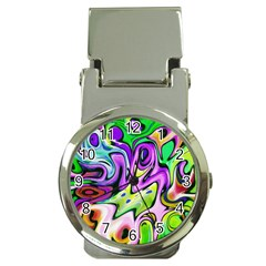 Graffity Money Clip with Watch