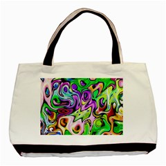Graffity Twin-sided Black Tote Bag