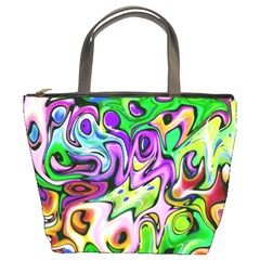 Graffity Bucket Handbag