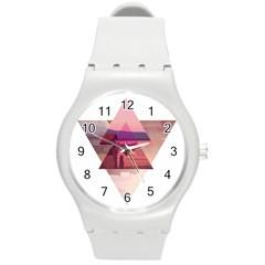 Triangles Plastic Sport Watch (medium)