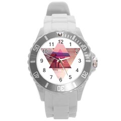 Triangles Plastic Sport Watch (Large)