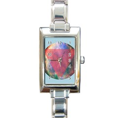 Cosmic Circle Rectangular Italian Charm Watch