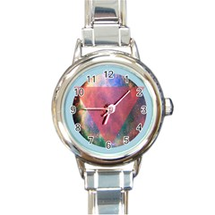Cosmic Circle Round Italian Charm Watch