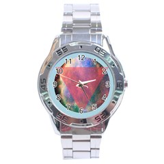 Cosmic Circle Stainless Steel Watch