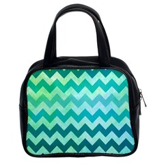 Chevron Classic Handbag (Two Sides)