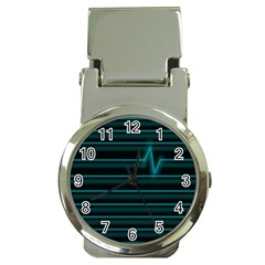 I m Alive Money Clip with Watch