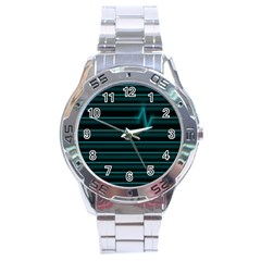 I m Alive Stainless Steel Watch