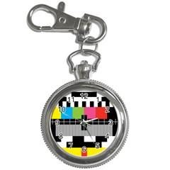 Test Pattern Key Chain & Watch