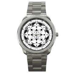 Mandala Sport Metal Watch