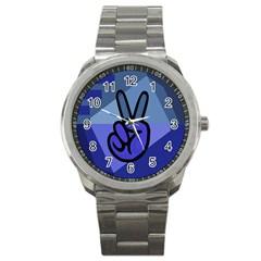 Peace Sport Metal Watch