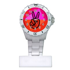 Love Peace Nurses Watch