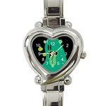 Monster Heart Italian Charm Watch  Front