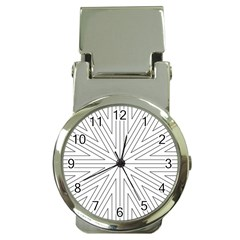 Explosion Money Clip with Watch