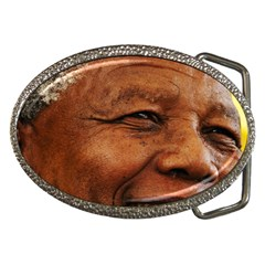 Mandela Belt Buckle (Oval)