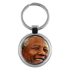 Mandela Key Chain (Round)