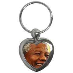 Mandela Key Chain (Heart)