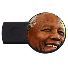 Mandela 4GB USB Flash Drive (Round)