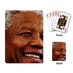 Mandela Playing Cards Single Design