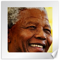 Mandela Canvas 12  x 12  (Unframed)