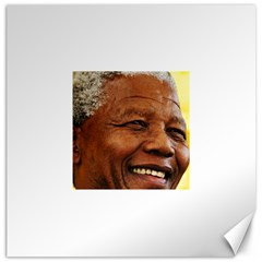 Mandela Canvas 20  X 20  (unframed)
