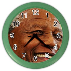 Mandela Wall Clock (Color)