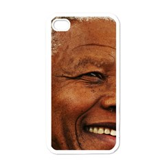 Mandela Apple iPhone 4 Case (White)