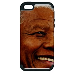 Mandela Apple iPhone 5 Hardshell Case (PC+Silicone)