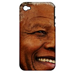 Mandela Apple iPhone 4/4S Hardshell Case (PC+Silicone)