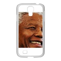 Mandela Samsung GALAXY S4 I9500/ I9505 Case (White)