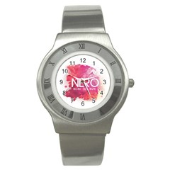 Nero ! Watch Stainless Steel Watch (slim)