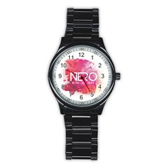 Nero ! Watch Sport Metal Watch (black)