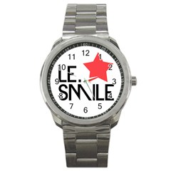Le. Smile Sport Metal Watch