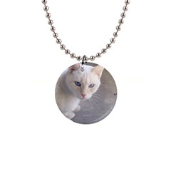 Beebee On Concrete Button Necklace