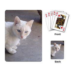 Beebee On Concrete Playing Cards Single Design
