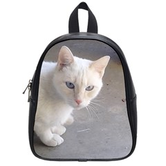 Beebee On Concrete School Bag (Small)