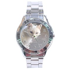 Beebee On Concrete Stainless Steel Watch