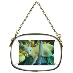 BeeBee Tulips Chain Purse (One Side)