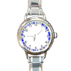 Color Chill Round Italian Charm Watch