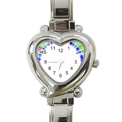 Color Chill Heart Italian Charm Watch