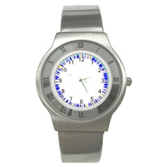 Color Chill Stainless Steel Watch (Slim)
