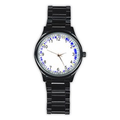 Color Chill Sport Metal Watch (Black)