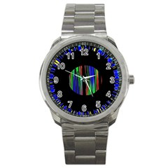 Black Chill O Sport Metal Watch