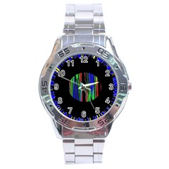 Black Chill O Stainless Steel Watch