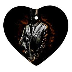 MusicMafia Ornament (Heart)