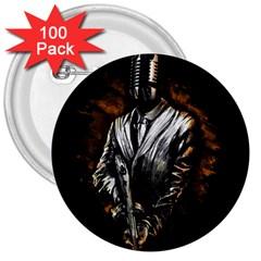 Musicmafia 3  Button (100 Pack)