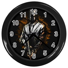 Musicmafia Wall Clock (black)