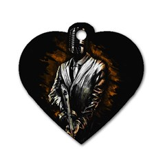 MusicMafia Dog Tag Heart (Two Sides)