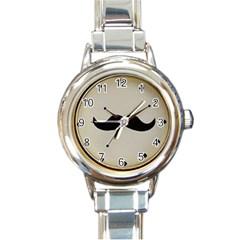 my style Round Italian Charm Watch