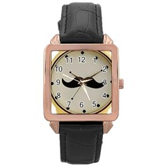 My Style Rose Gold Leather Watch