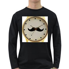 My Style Mens' Long Sleeve T-shirt (Dark Colored)